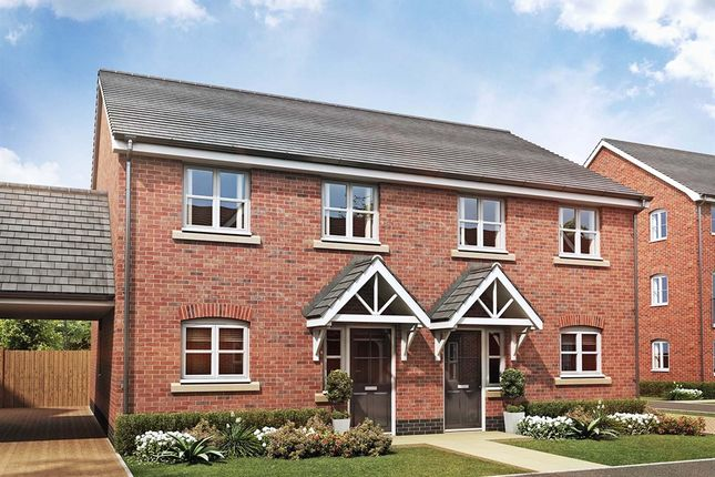 "Thumbnail Semi-detached house for sale in ""The Barton"" at Folly Lane, Hockley"