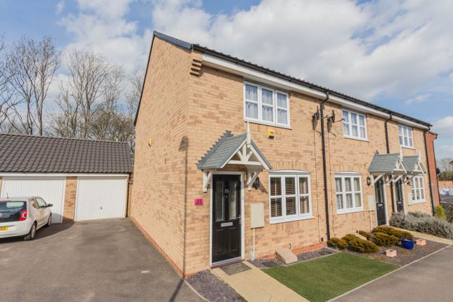 Thumbnail End terrace house for sale in Gulliver Road, Irthlingborough, Wellingborough