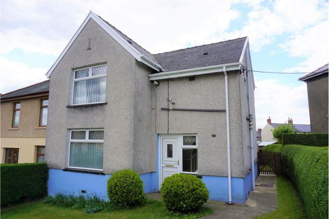 Thumbnail Semi-detached house for sale in The Drive, Bargoed