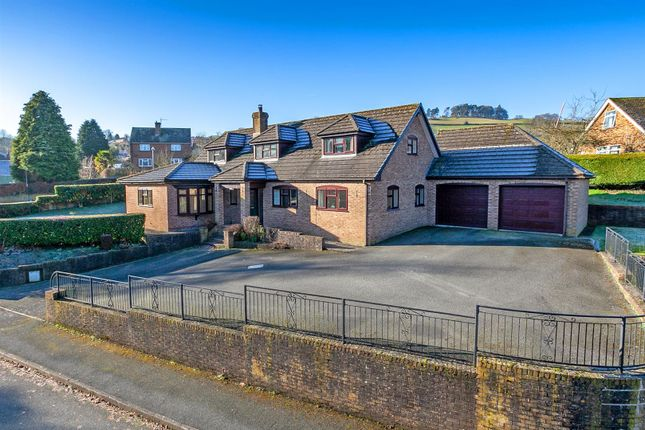Thumbnail Detached house for sale in Cwmifor, Pontfaen Meadows, Knighton