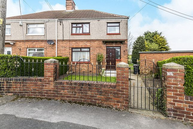 Thumbnail Semi-detached house for sale in Laburnum Road, Ferryhill