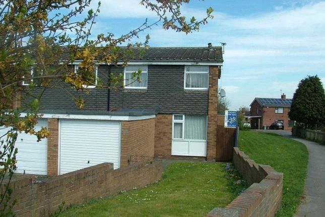 Thumbnail Semi-detached house to rent in Chequers Close, Pontefract