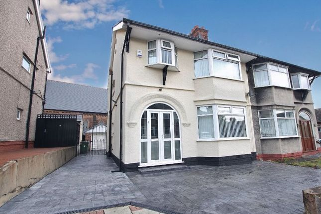 Thumbnail Semi-detached house for sale in Gilmour Mount, Oxton, Wirral