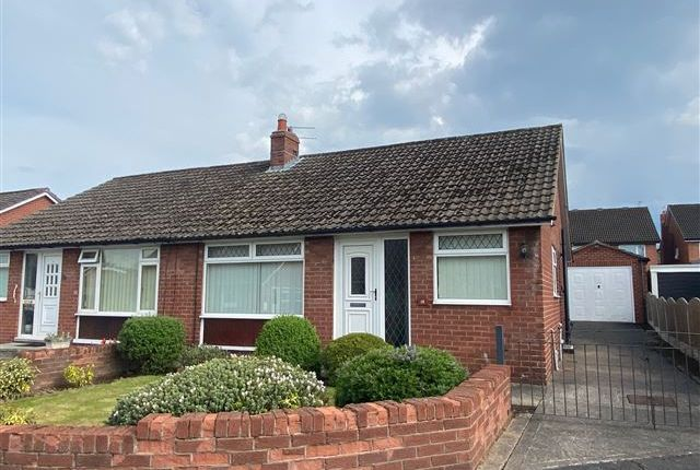 Thumbnail Semi-detached bungalow for sale in Beech Grove, Houghton, Carlisle, Cumbria