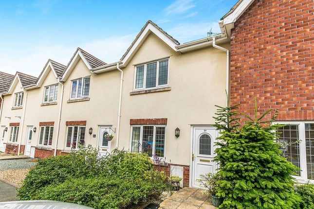 Thumbnail Terraced house to rent in Long Croft, Weston Rhyn, Oswestry