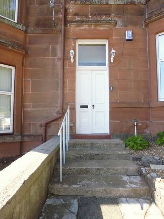 Entrance of Flat 2, 3 Montford Terrace, Rothesay PA20