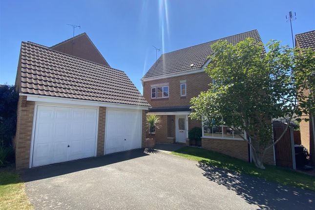 Thumbnail Detached house for sale in Melody Drive, Sileby, Leicestershire