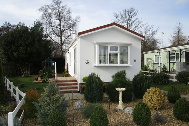 Thumbnail Mobile/park home for sale in Station Road, Snettisham, King's Lynn