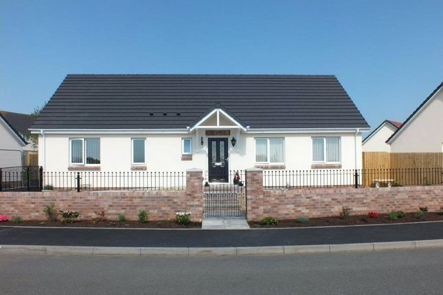 Thumbnail Detached bungalow for sale in Plot 3 Beaconing Fields, Neyland Road, Steynton, Milford Haven