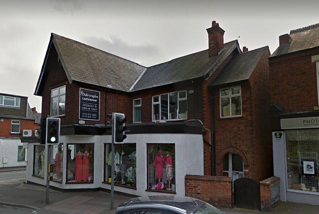 Thumbnail Retail premises for sale in Tamworth Road, Long Eaton
