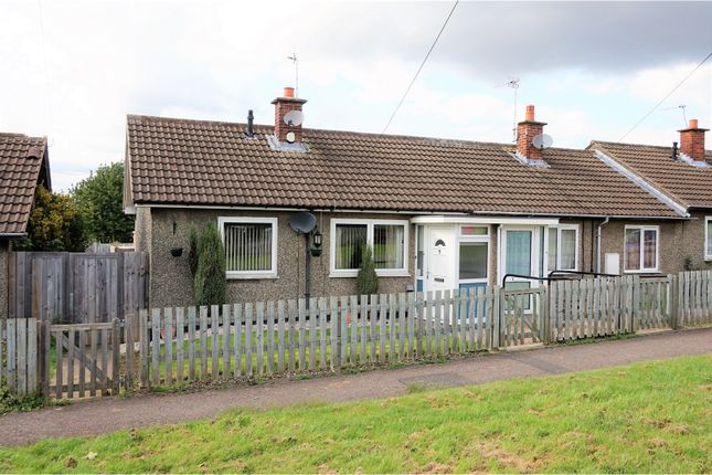 Thumbnail Terraced bungalow for sale in Rosshill Crescent, Leicester