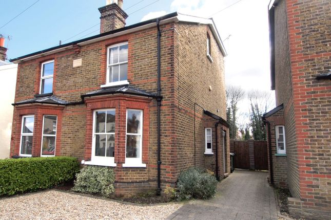 Thumbnail Semi-detached house to rent in Miles Road, Epsom