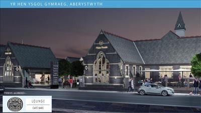 Thumbnail Retail premises to let in Unit 1, Yr Hen Ysgol Gymraeg, Alexandra Road, Aberystwyth