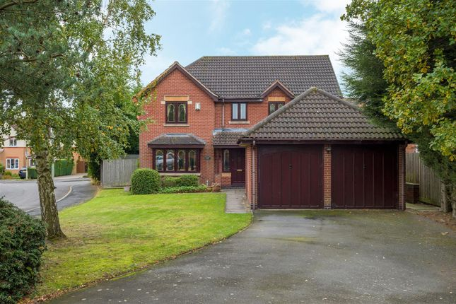 Thumbnail Detached house for sale in Ulleswater Crescent, Ashby-De-La-Zouch