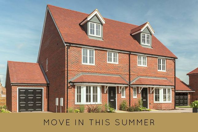 "Thumbnail Semi-detached house for sale in ""The Madeley"" at Gravel Lane, Drayton, Abingdon"