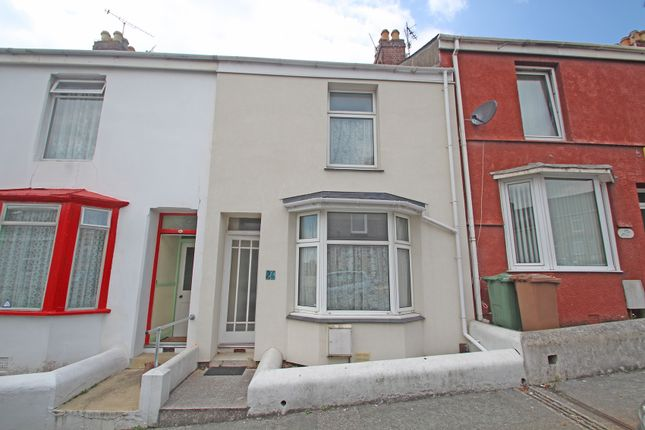 Thumbnail Terraced house for sale in Hamoaze Avenue, Weston Mill, Plymouth