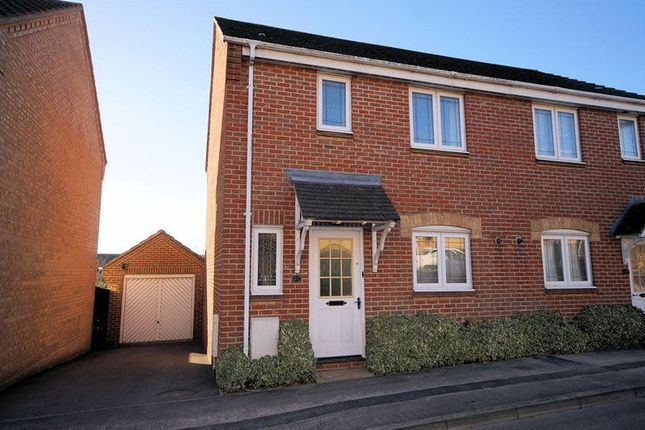 Thumbnail Semi-detached house for sale in Caer Peris View, Portchester