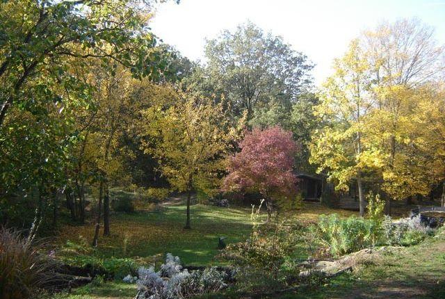 Autumn Garden of Casa Nascosta, Preggio, Umbria