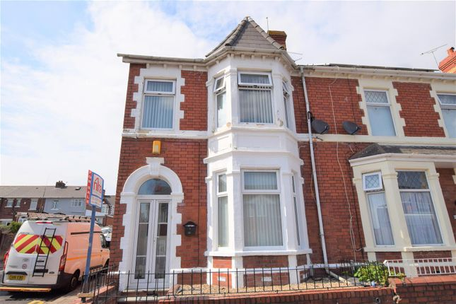 Thumbnail End terrace house for sale in Maes-Y-Cwm Street, Barry