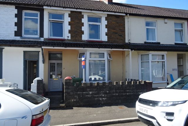 Thumbnail Terraced house to rent in Lewis Street, Treforest, Pontypridd
