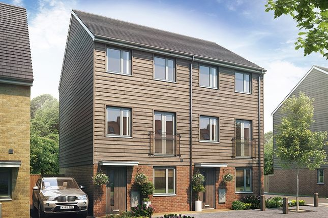 """Thumbnail End terrace house for sale in """"The Greyfriars"""" at Eclipse, Sittingbourne Road, Maidstone"""