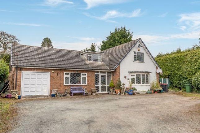 Thumbnail Detached bungalow for sale in Vineyard Road, Wellington, Telford