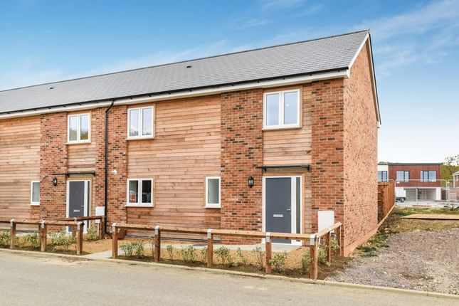 Thumbnail Terraced house for sale in Queens Court, Bicester