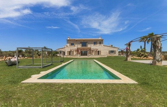 Pool And Garden of Spain, Mallorca, Ses Salines