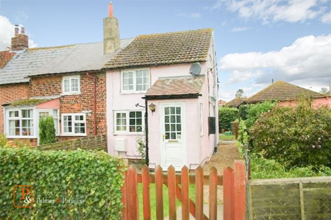 Thumbnail End terrace house to rent in Church Road, Fordham, Essex