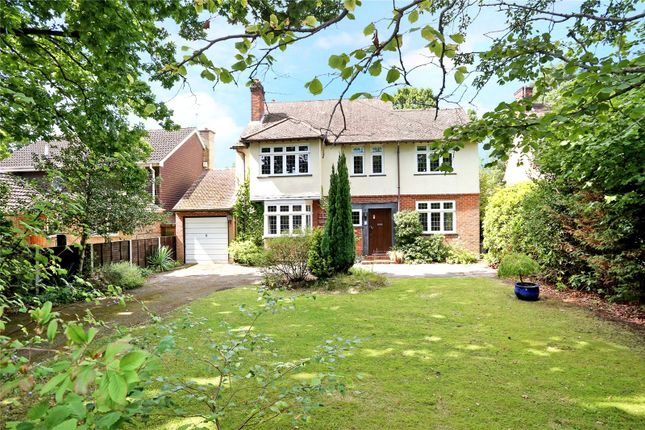 Thumbnail Detached house for sale in Wood Lane, Fleet