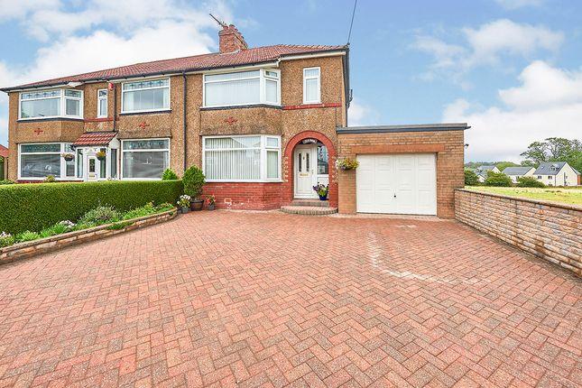 Thumbnail Semi-detached house for sale in Carleton Road, Carlisle, Cumbria