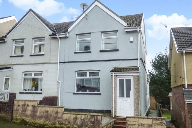 Thumbnail Semi-detached house for sale in Thomas Street, Gilfach Goch, Porth, Mid Glamorgan