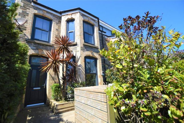 Terraced house for sale in Berry Road, Newquay, Cornwall
