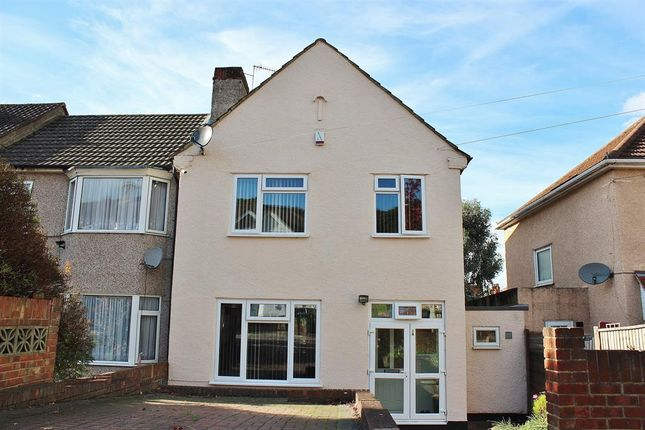 Thumbnail End terrace house for sale in Bastion Road, Abbey Wood, London