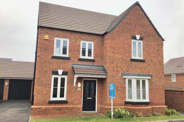 Thumbnail Detached house for sale in Dudley Grove, Doseley, Telford