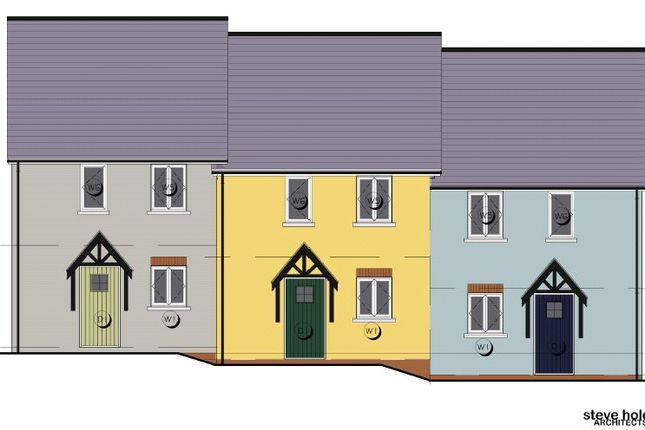 Thumbnail End terrace house for sale in Maes Yr Orsaf (The Wiston), Plot 1, Station Road, Narberth