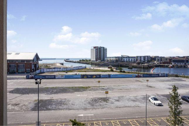 Sea View of Kings Road, Swansea SA1
