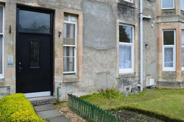 Entrance of Flat 1/4, 12, The Terrace, Ardbeg, Rothesay, Isle Of Bute PA20