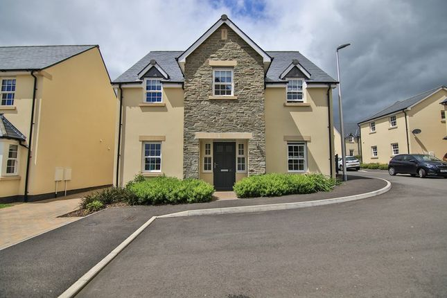 Thumbnail Detached house for sale in The Green, Llangenny Lane, Crickhowell