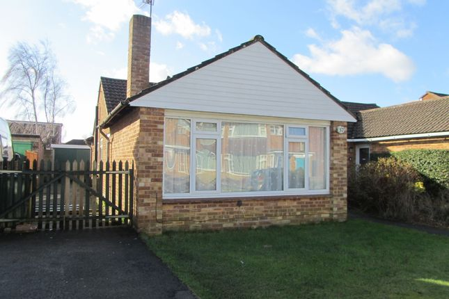 Thumbnail Detached bungalow to rent in Abbeyfield Drive, Fareham