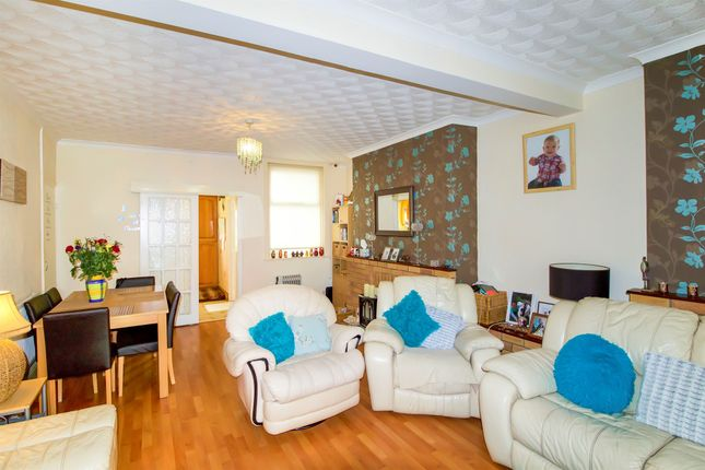 Thumbnail End terrace house for sale in Cross Street, Tondu, Bridgend