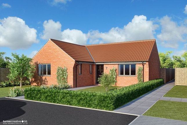 Thumbnail Detached bungalow for sale in Back Lane, Mileham, King's Lynn