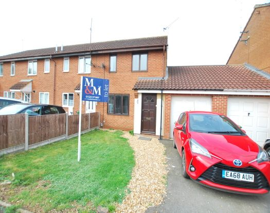 Thumbnail Semi-detached house to rent in North Star Drive, Leighton Buzzard