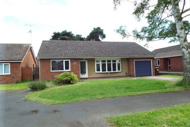 Thumbnail Detached bungalow to rent in Old Pond Close, Lincoln