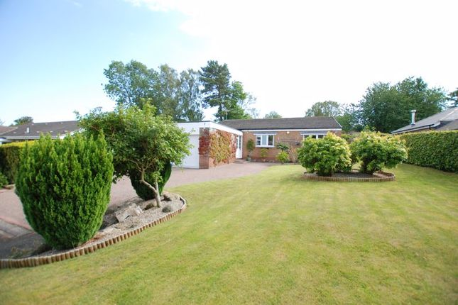 Thumbnail Bungalow for sale in Larchlea South, Ponteland, Newcastle Upon Tyne