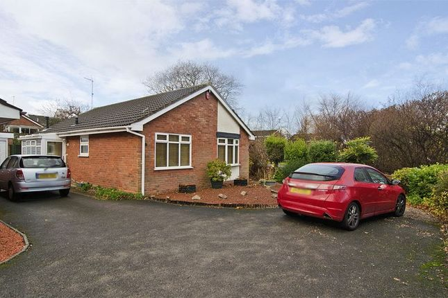 Thumbnail Detached bungalow for sale in Badgers Way, Heath Hayes, Cannock