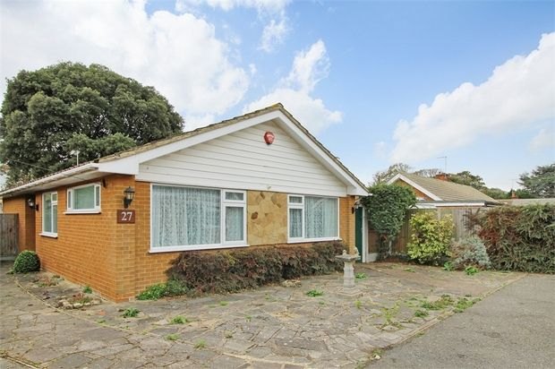 Thumbnail Detached bungalow for sale in Radley Close, Broadstairs