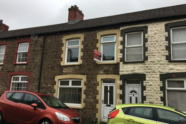 Thumbnail Terraced house to rent in Harcourt Street, Ebbw Vale