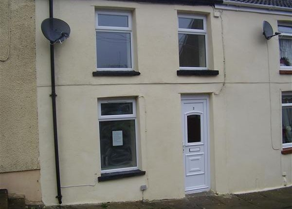 Thumbnail Terraced house to rent in Cross Row, Penygraig, Tonypandy