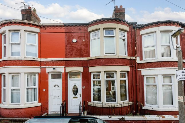 Thumbnail Terraced house for sale in Westdale Road, Wavertree, Liverpool